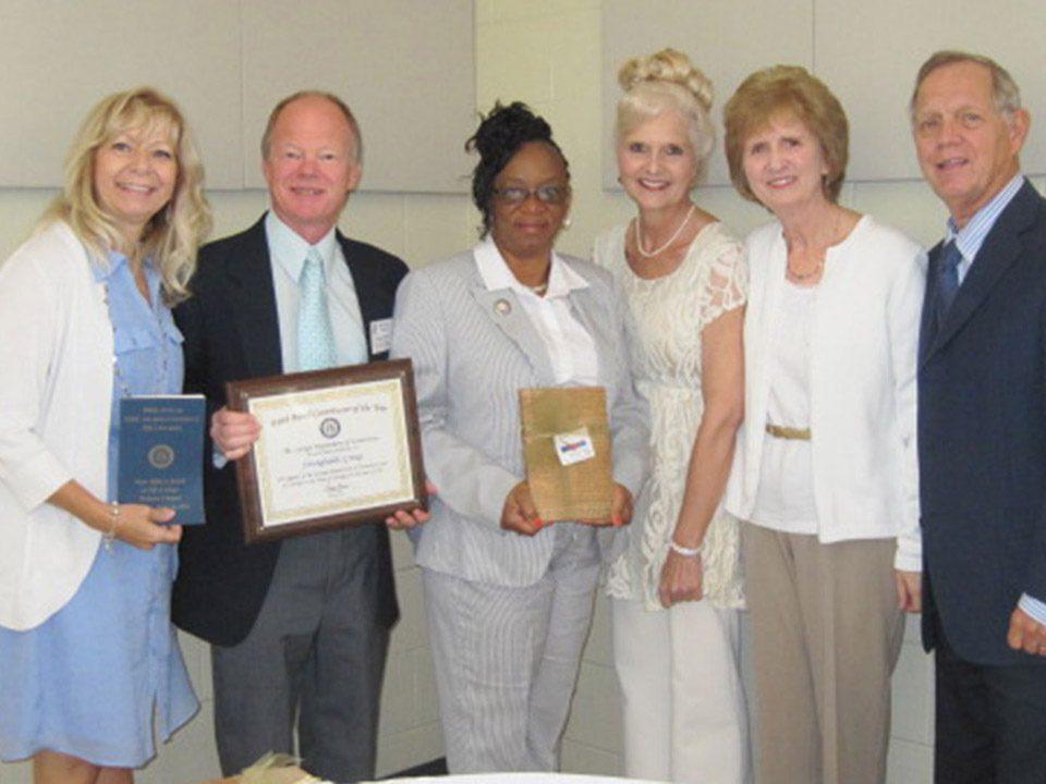 Georgia State Prison Ministry Award - June 2014