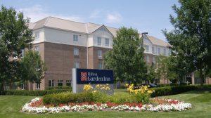 The Hilton Garden Inn in Dublin Ohio