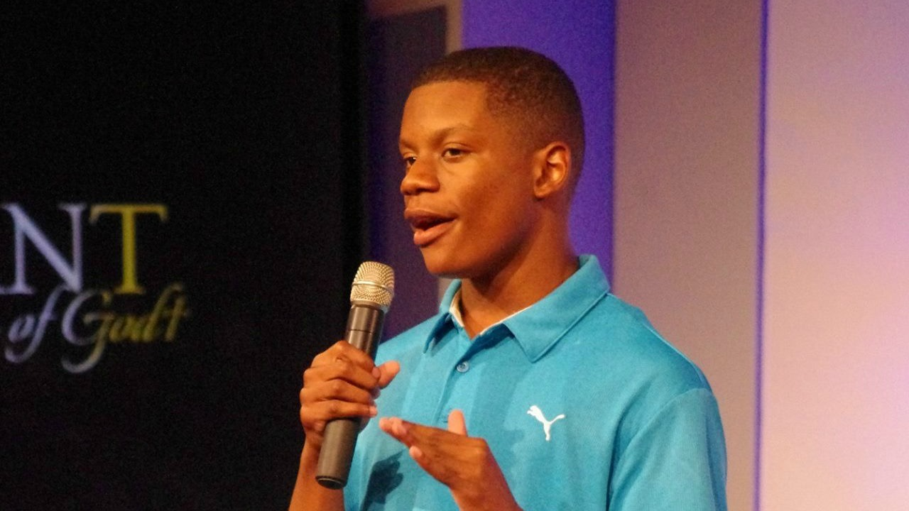 Remnant Fellowship youth member Sterling Evans