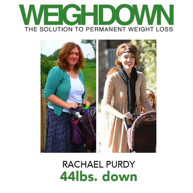 Weigh Down Before & After Rachael Purdy