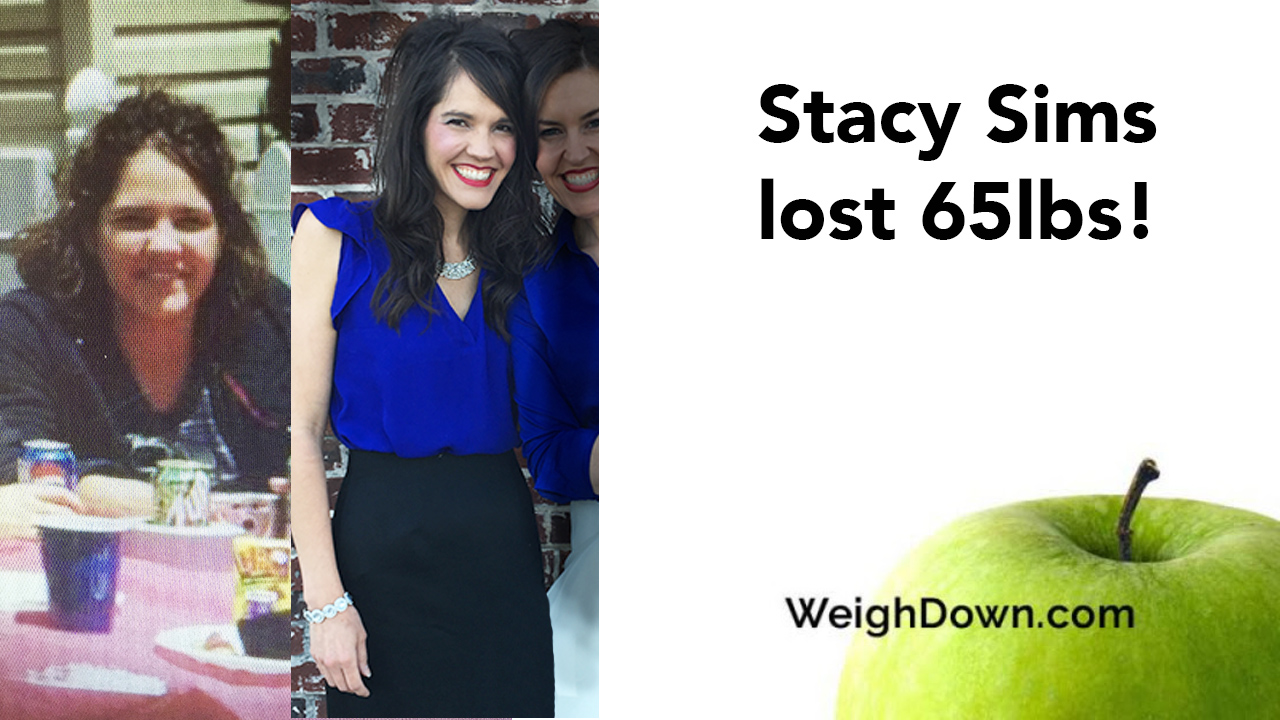 Weigh Down Before & After Stacy Sims