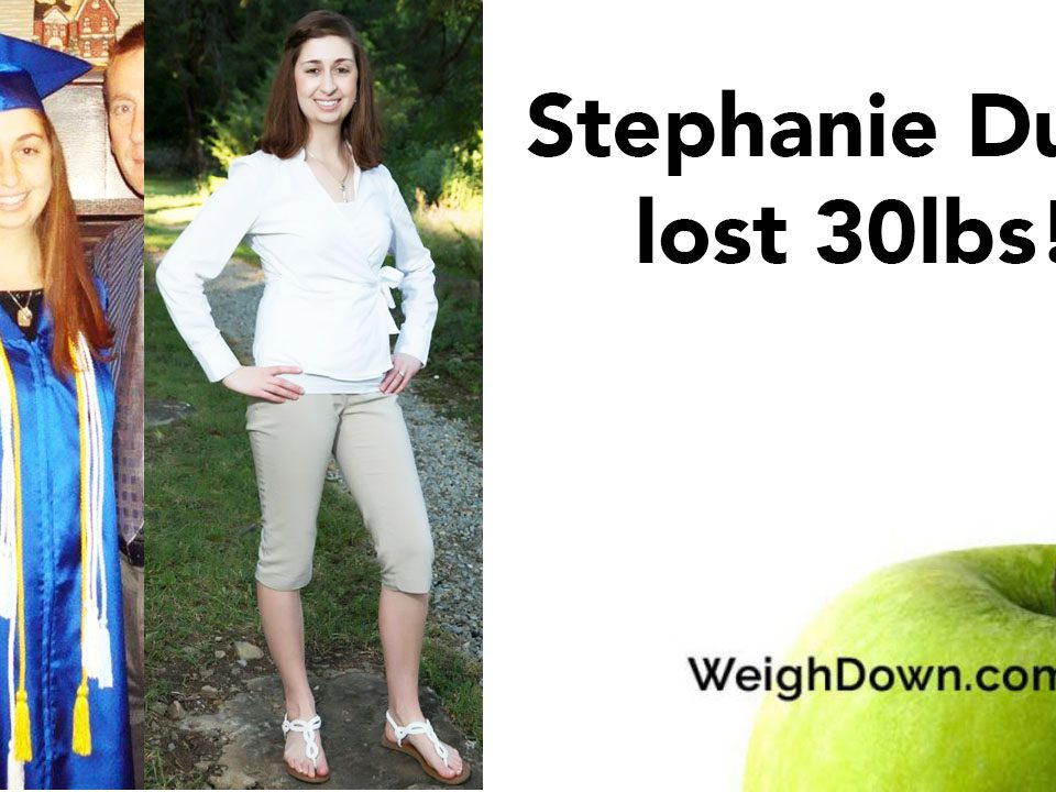 Weigh Down Before & After Stephanie Duda 2