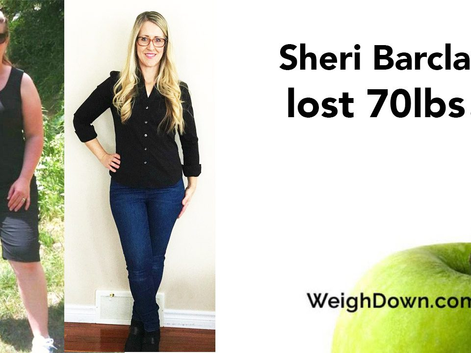 Weigh Down Before & After Sheri Barclay 2