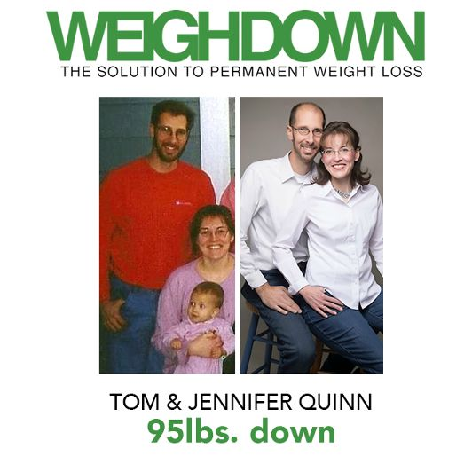 Weigh Down Before After Tom Jennifer Quinn