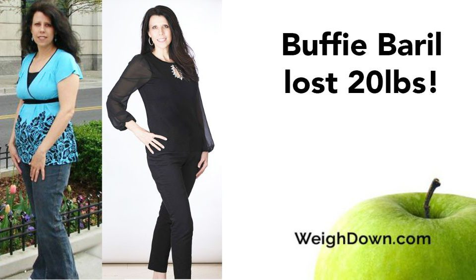 Weigh Down Before & After Buffie Baril