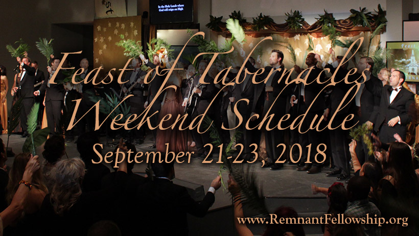 Feast of Tabernacles 2018