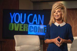 "Gwen Shamblin Lara on the weekly ""You Can Overcome"" show."