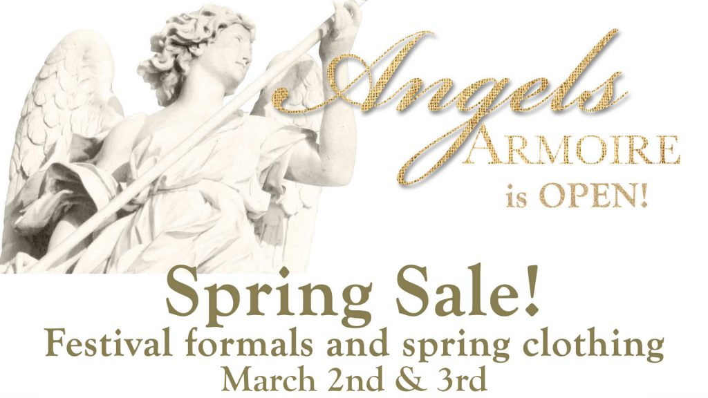 Angel's Armoire spring sale