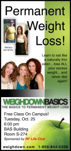 Weigh Down Basics Class at MTSU