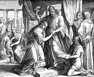 Queen Esther at her Coronation