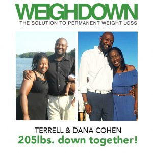 Weigh Down Before & After Terrell & Dana Cohen