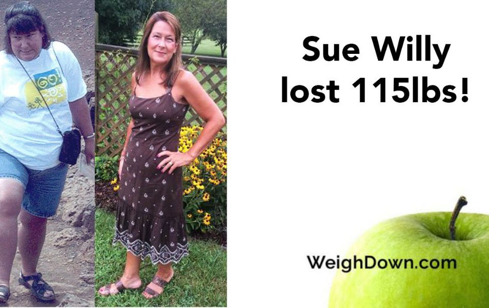 Weigh Down Before & After Sue Willy 2