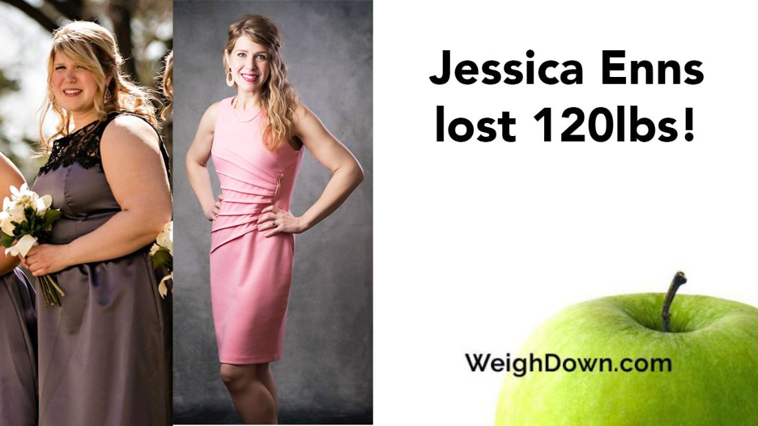 Jessica Enns Before & After Weigh Down