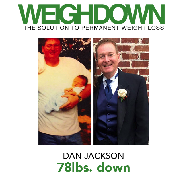 Weigh Down Before & After Dan Jackson